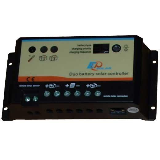 Laddningsregulator Duo-batteri 10 A