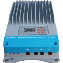 Laddningsregulator MPPT-Tracer E-Tracer-BND, 12, 24, 36,48 V, 60 A