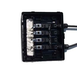 Bypass-dioder inne i kontaktbox