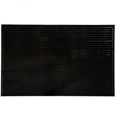 Solpanel 250 W monokristallin, Perc, svart