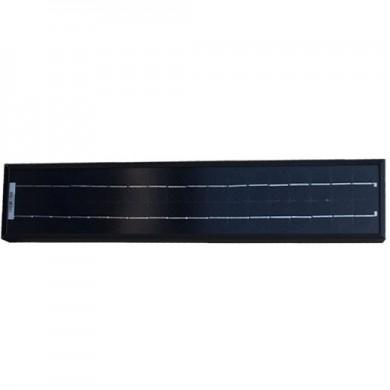 solcell 10W, svart monokristallin