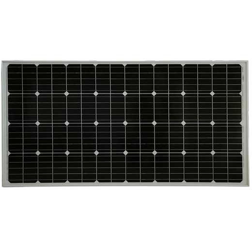 Solpanel, 160W med monokristallina PERC celler av kisel