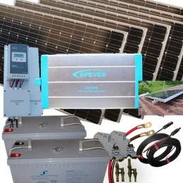 Solcellspaket 230V, 2kW
