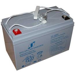 AGM-batteri 12V, 100Ah