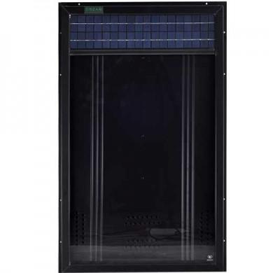 Solfångare för varmluft & ventilation OS14, 350W luftcirkulation