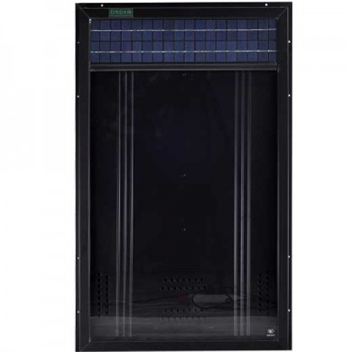 Solfångare för varmluft & ventilation OS22, 500W, luftcirkulation