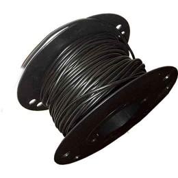 RKUB Lågspänningskabel 2,5 mm²,  svart