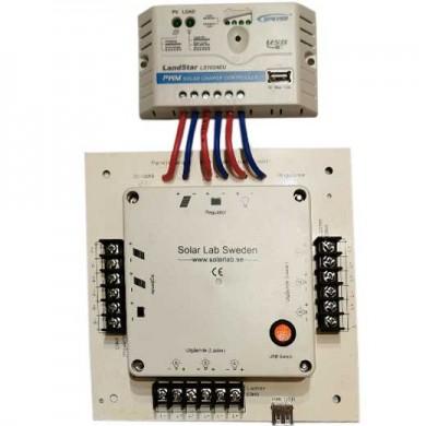 Säkringscentral med USB-laddning med Ls-10A regulator