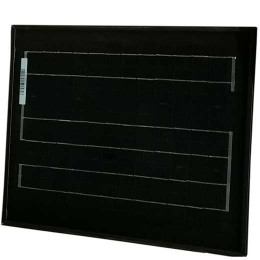 solpanel 10W monokristallin, svart