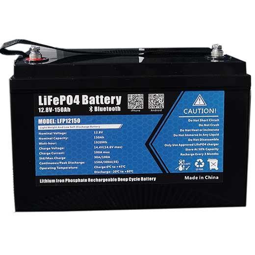 Litiumbatteri 150Ah
