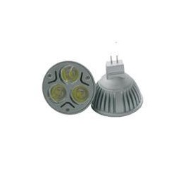 LED-lampa 3W, 12V, varmvit