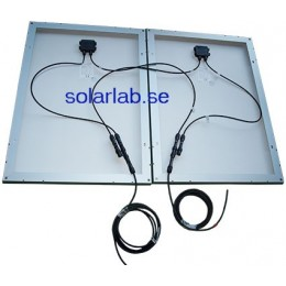 Parallellkoppla två solpaneler
