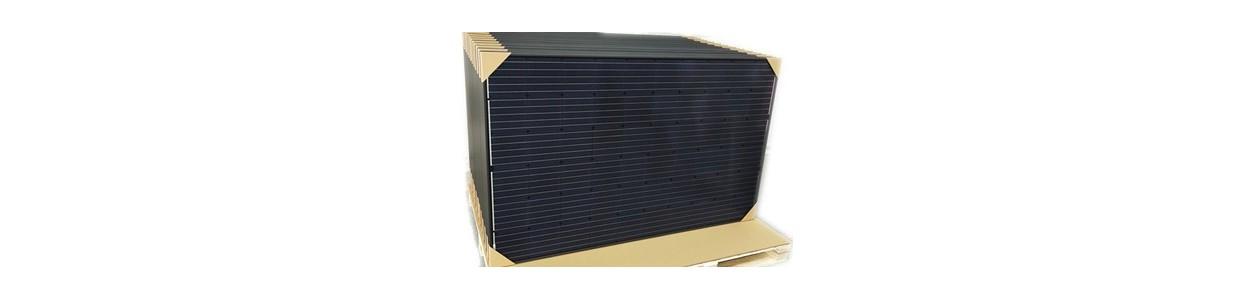 Solceller för nätanslutning